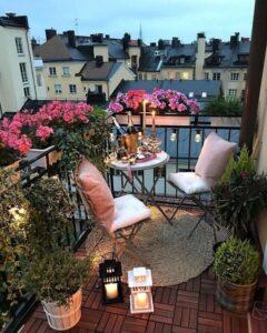 küçük balkon tasarımı ve önemli detayları