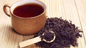 kalça terlemesi ve siyah çay