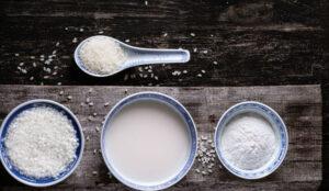 pirinç unu süt maskesi