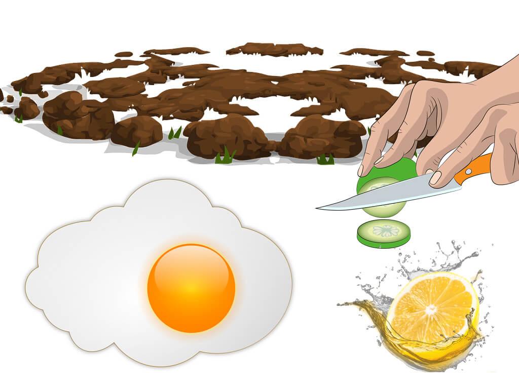 salatalık ve yumurta maskesi