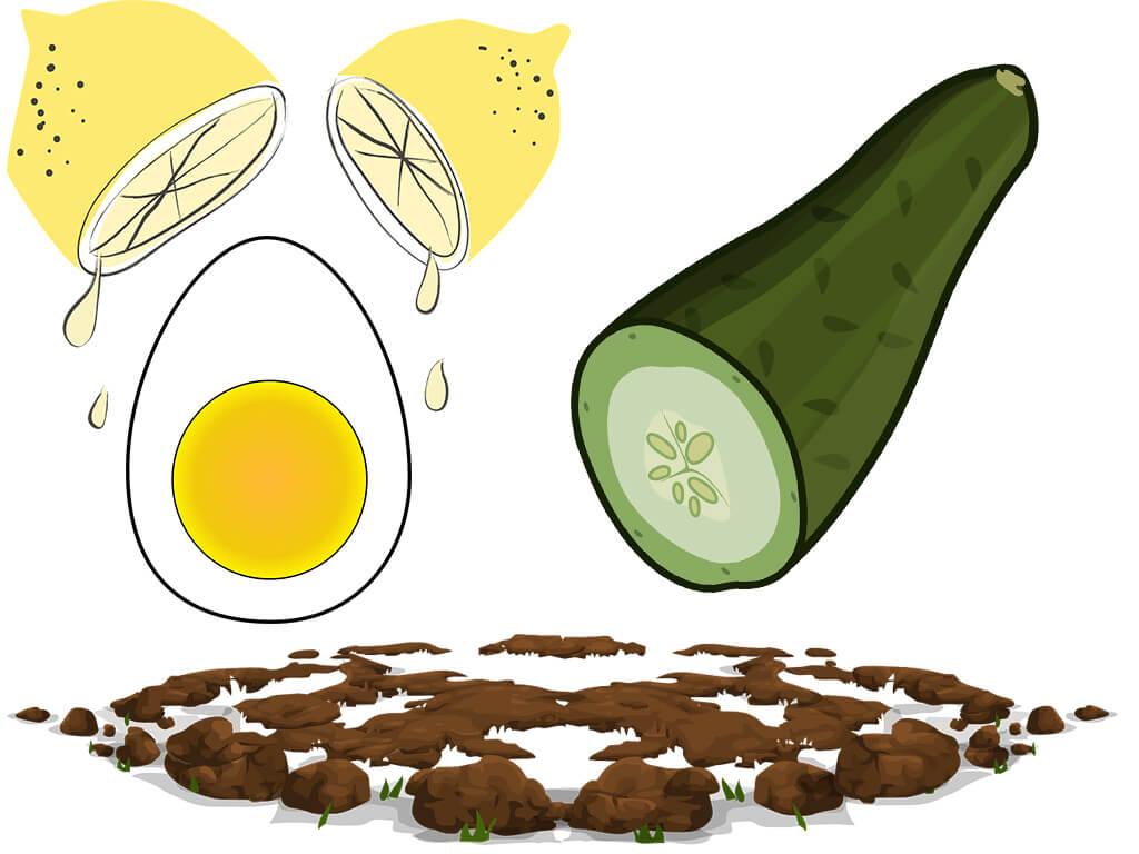 yumurta salatalık maskesi