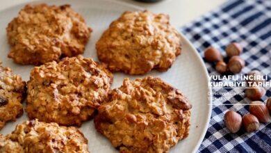 yulaflı incirli kurabiye nasıl yapılır