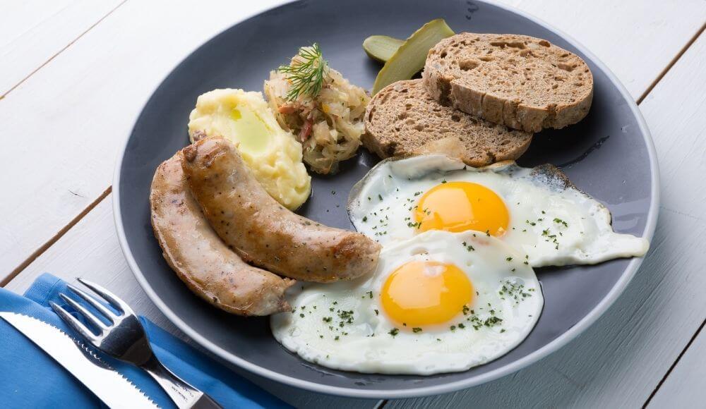 alman kahvaltısında neler var