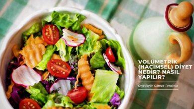 volümetrik diyet nedir