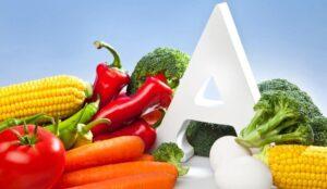 a vitamini yüksek besinler