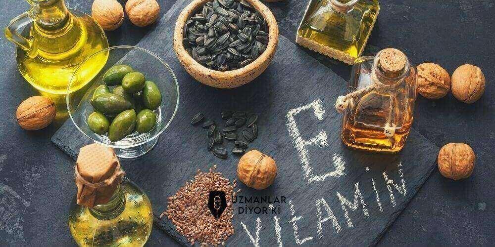 e-vitamini-iceren-besinler