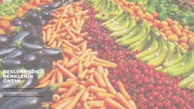 renkli beslenme