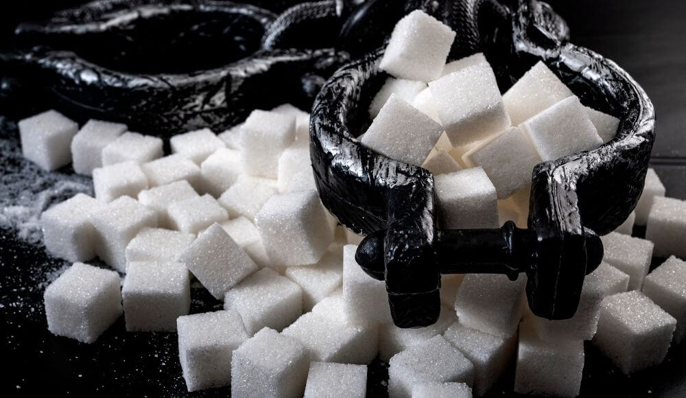şekeri bırakmak için