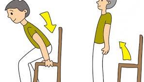 sandalye egzersizleri