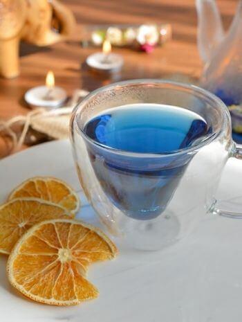 mavi çay