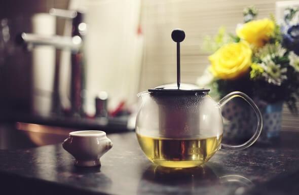 besinlerin termik etkisi: yeşil çay