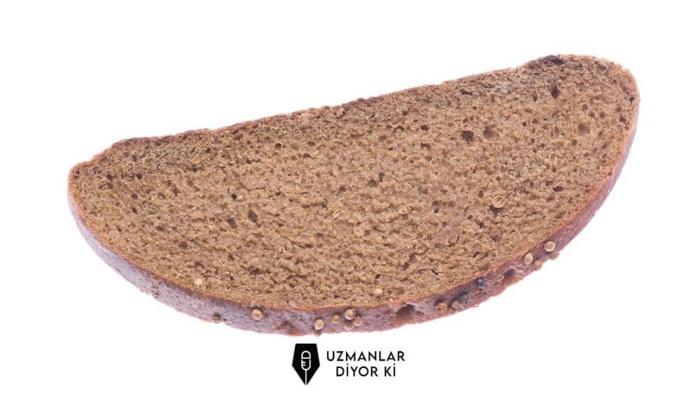 1 dilim tam buğday ekmeği kaç kalori