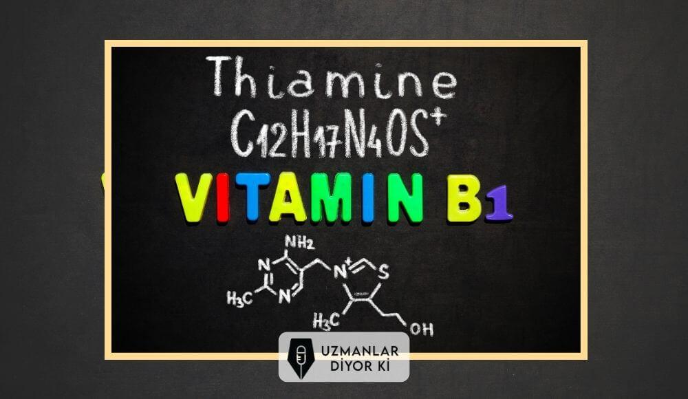 b1 vitamini kimyasal yapısı