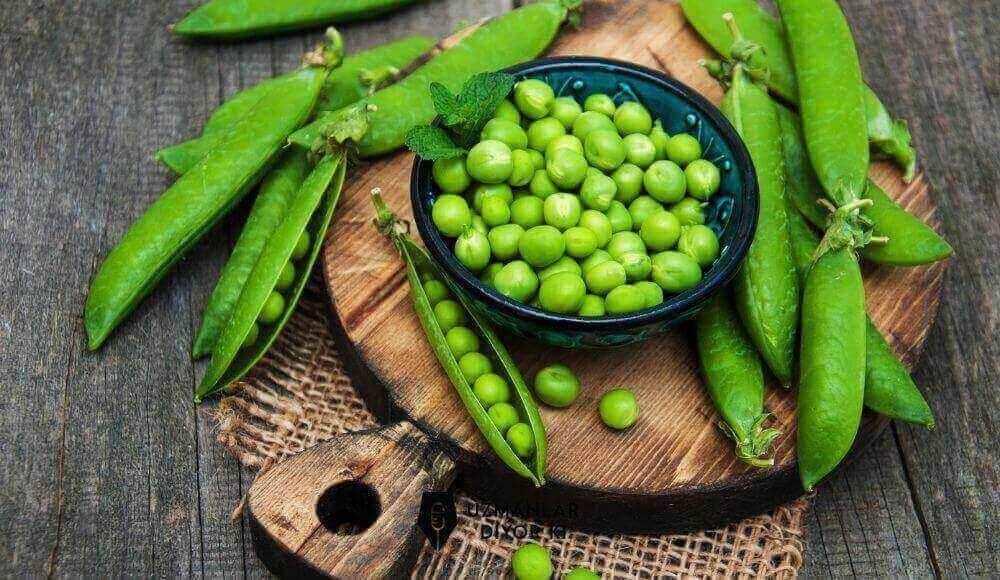 bezelye besin değerleri ve faydaları