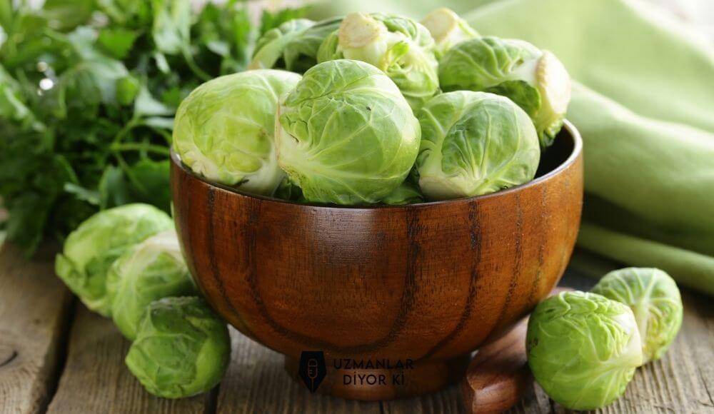 Brüksel lahanası faydaları ve besin değerleri