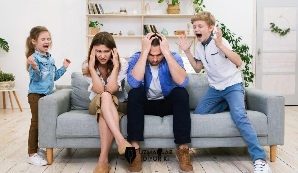 çocuğumuzla bağırarak konuştuğumuzda ne olur