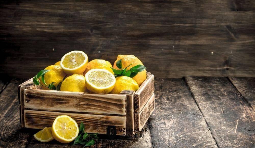 limonun besin değerleri ve faydaları