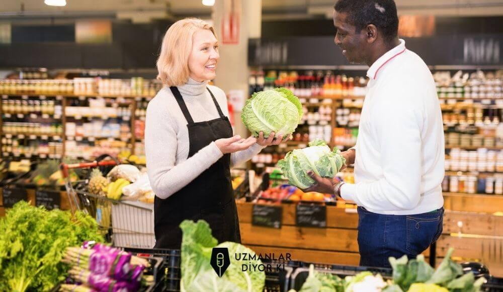 sağlıklı alışveriş