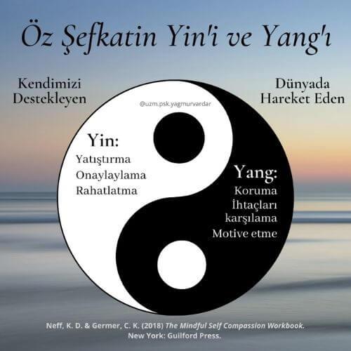 öz şefkat yin ve yang